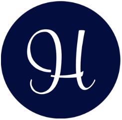 Hembry logga blå bakgrund 1